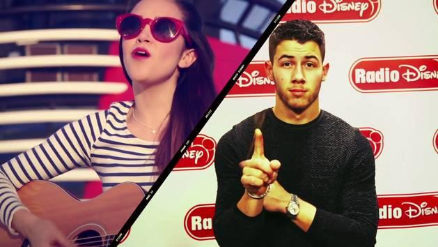 Nick Jonas and Megan Nicole - Radio Disney Insider