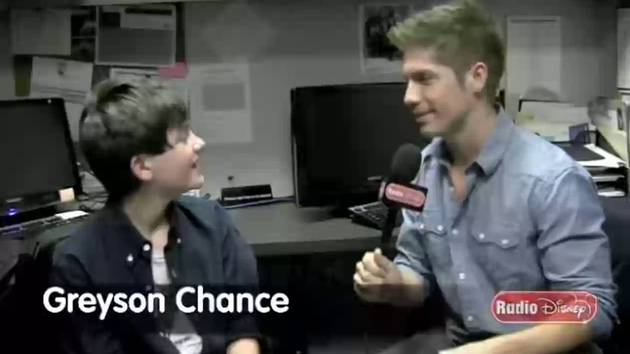 Greyson Chance Birthday - Celebrity Take with Jake