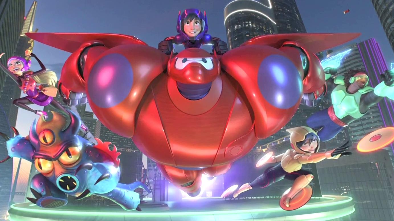 Disney Facts - Big Hero 6