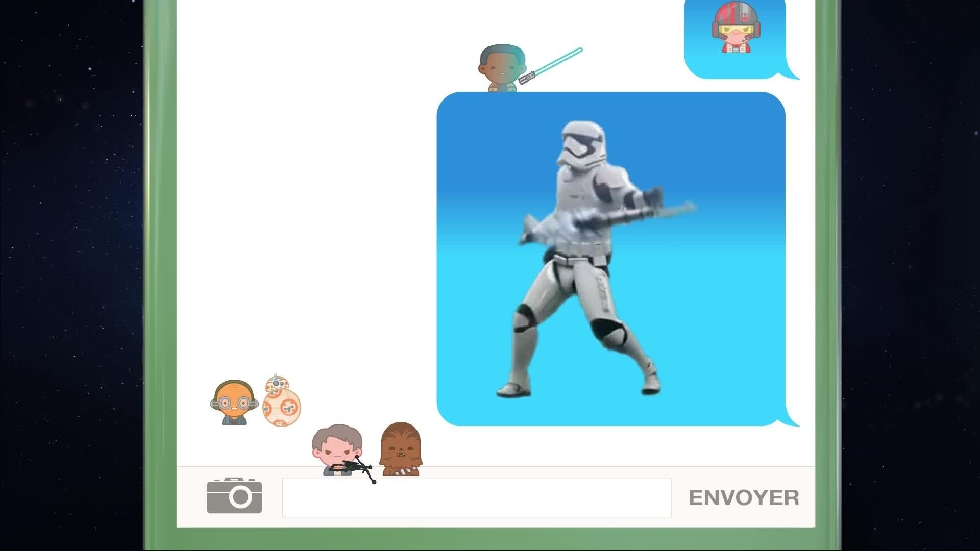 Disney Emojis - Star Wars: Le Réveil de la Force raconté en emojis