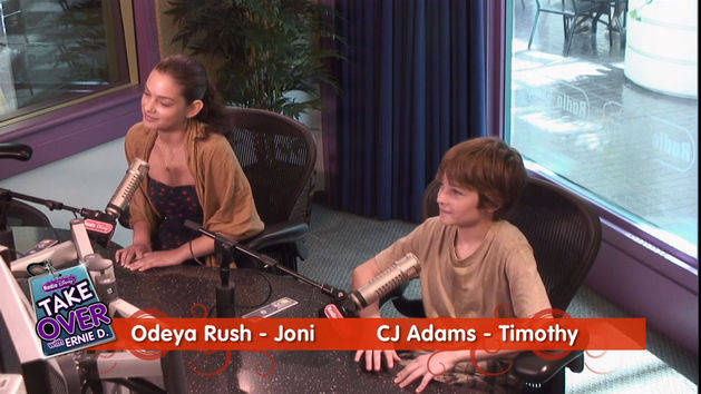 CJ Adams and Odeya Rush - Take Over with Ernie D.