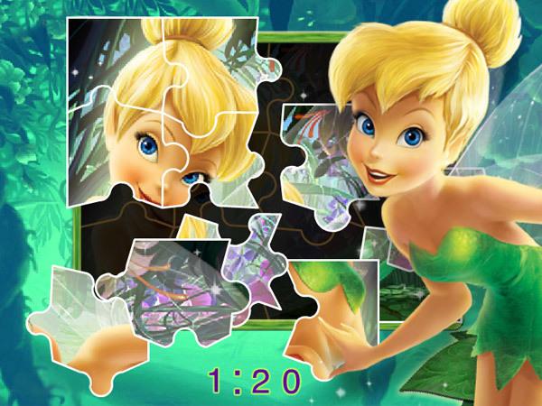 Wróżkowe puzzle