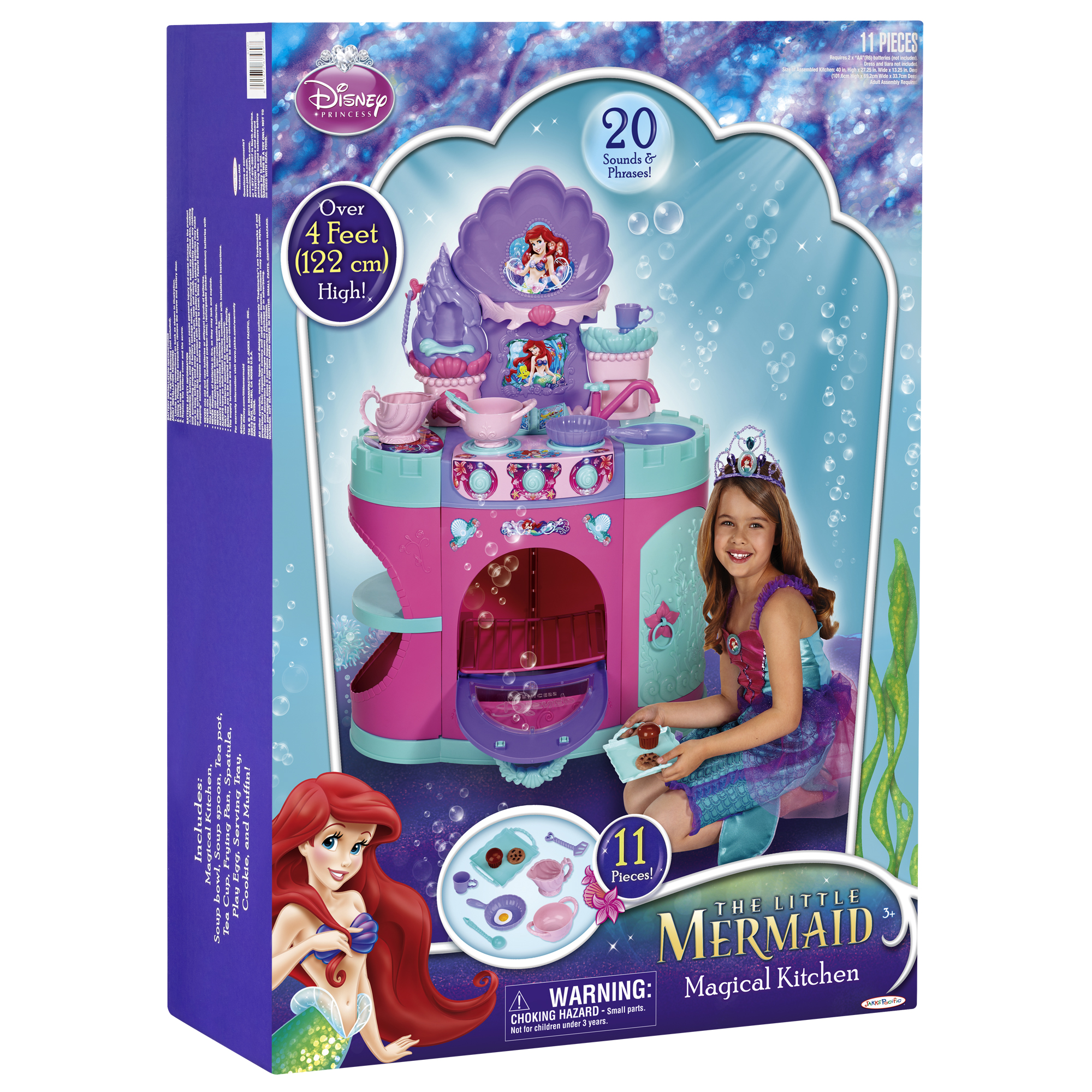 Ariel Mermaid Kitchen