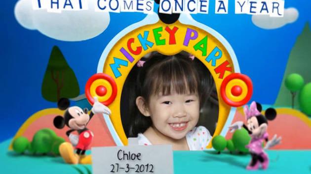 Disney Junior Birthday Book March Album 5