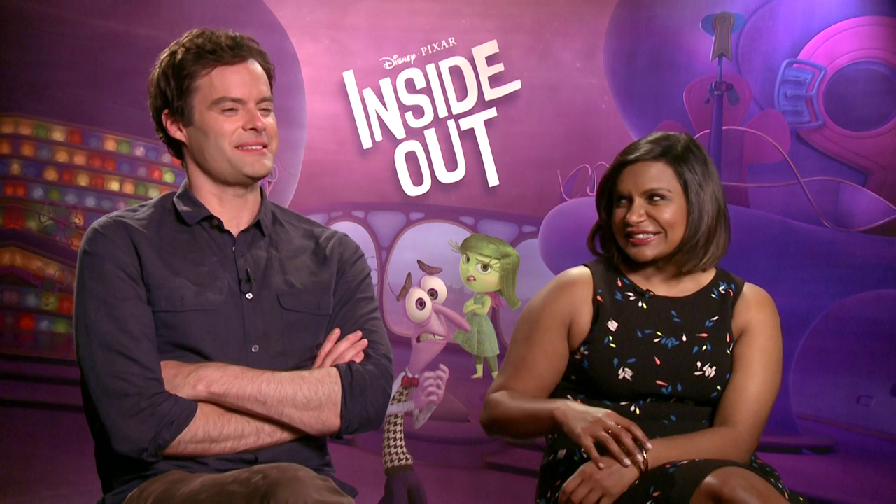 Interviews with the Cast of Inside Out - Radio Disney