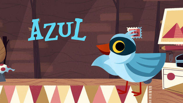 Azul - Words with Wazoh - It's a Small World Short
