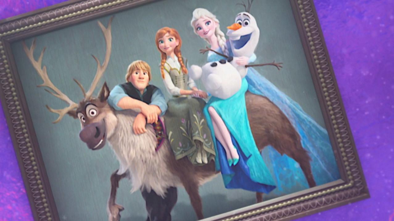 """Momente de familie cu """"Regatul de gheaţă"""""""