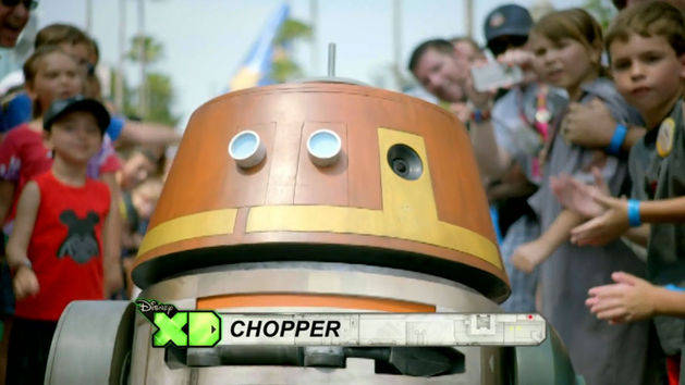 Meet Chopper - Star Wars Rebels at Disney Parks