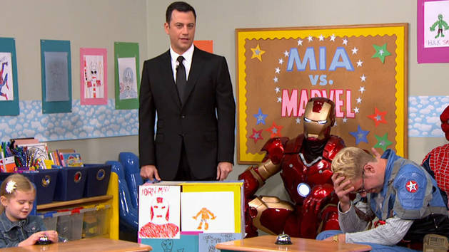 Super Heroes - It's Kimmel Time!