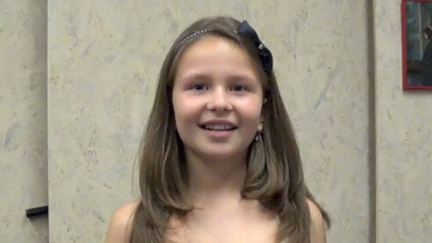 Zory, 9, CA sings Part of Your World