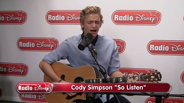"""So Listen"" (Acoustic) - Cody Simpson"