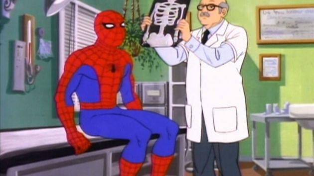Marvel Mash-Up: Sneezing Spider-Man