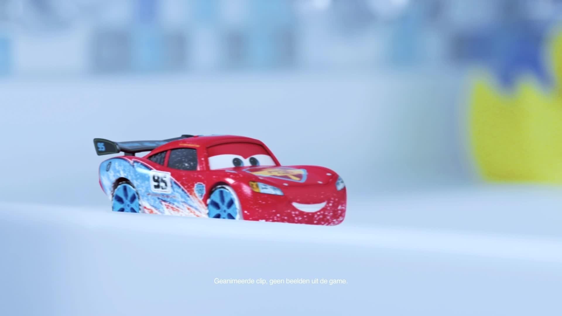 Cars Daredevil Garage - Testrit in de Badkamer