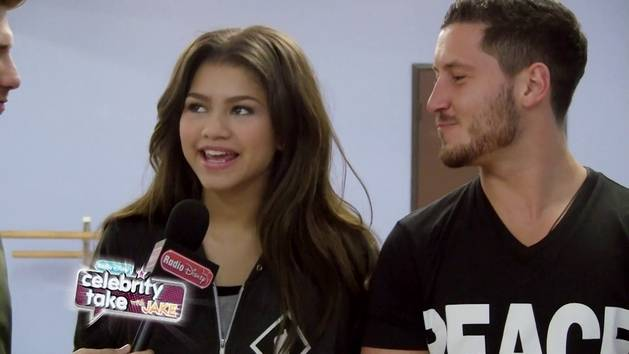 Zendaya and Val - Dancing With The Stars