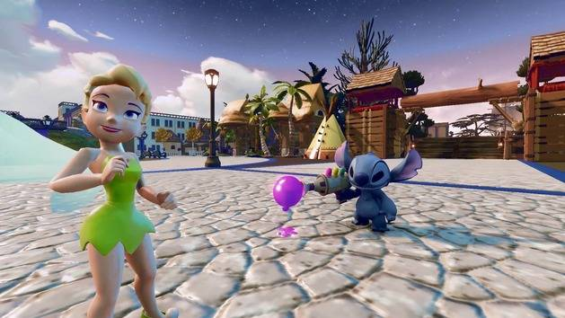Stitch & Tinker Bell Trailer - Disney Infinity (2.0 Edition)