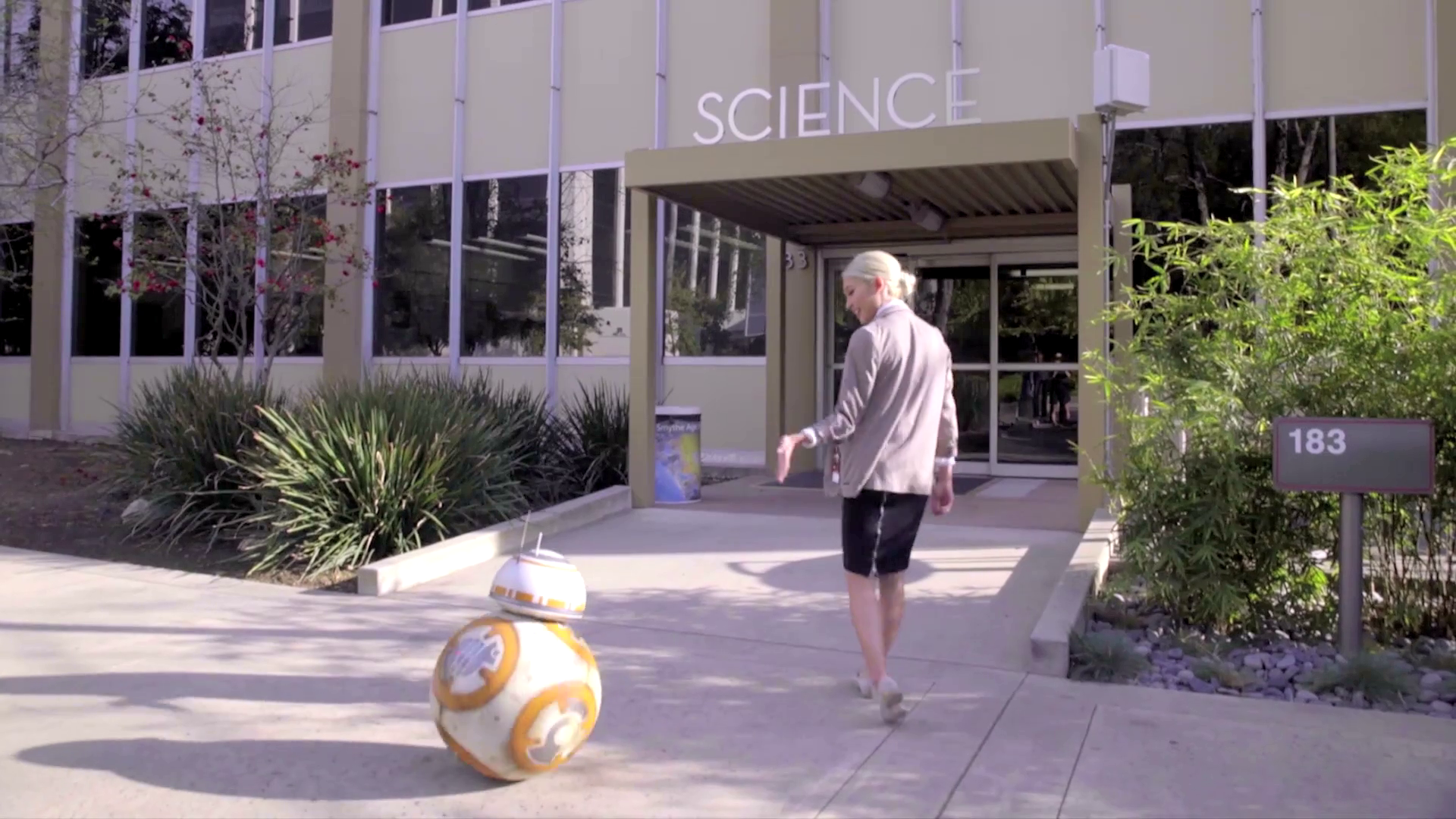BB-8 at the Jet Propulsion Laboratory