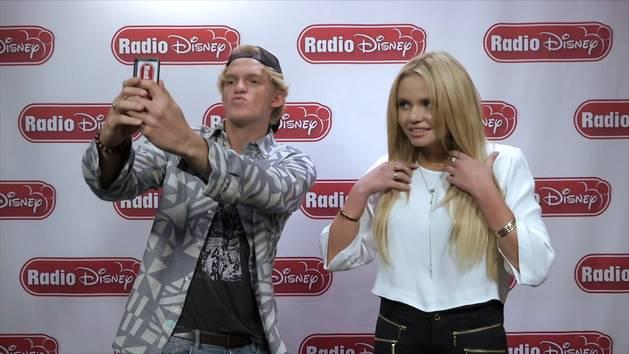Cody and Alli Simpson's Selfie Standoff - Radio Disney