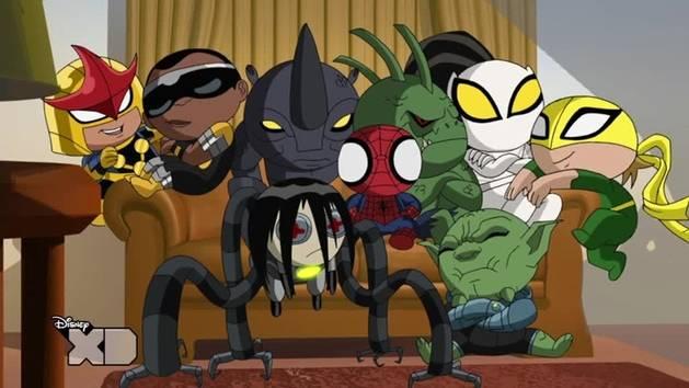 Ultimate Spider-man - i sinistri 6