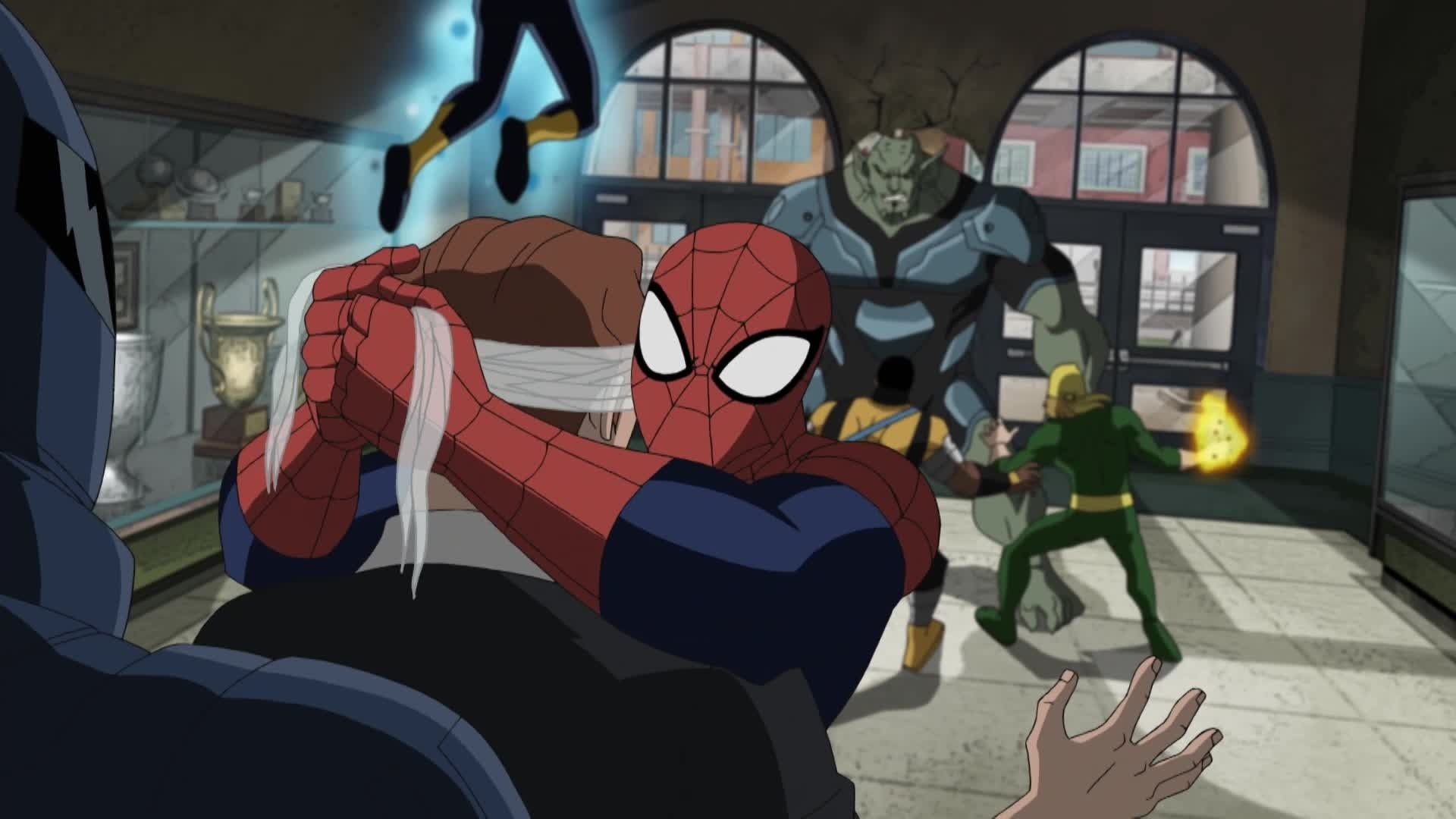 Ultimate Spider-Man - Harry Osborn beschermen