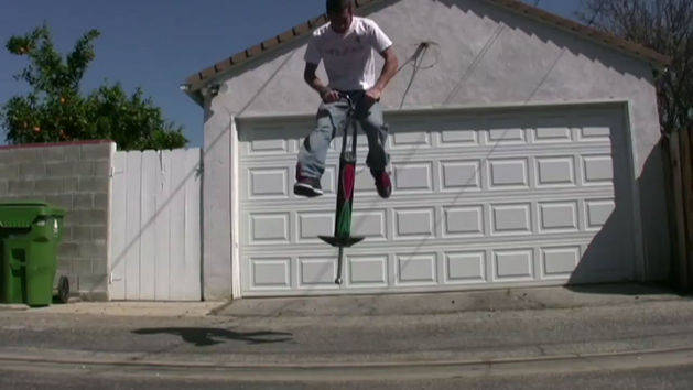 Old School Pogo Tricks