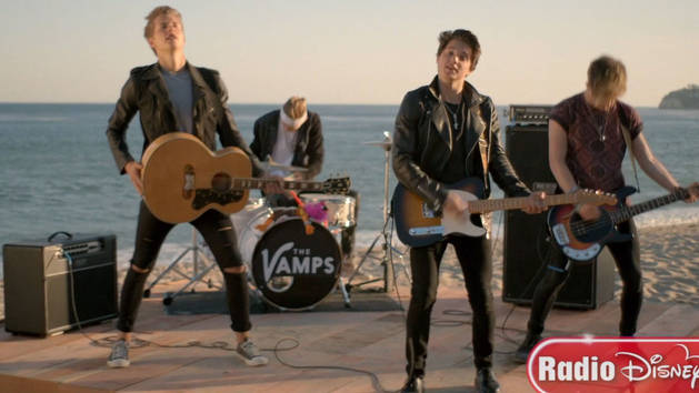 """Somebody To You (feat. Demi Lovato)""  - The Vamps  - Radio Disney"