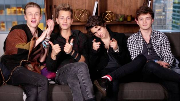 The Vamps Welcome Shawn Mendes to Vevo LIFT