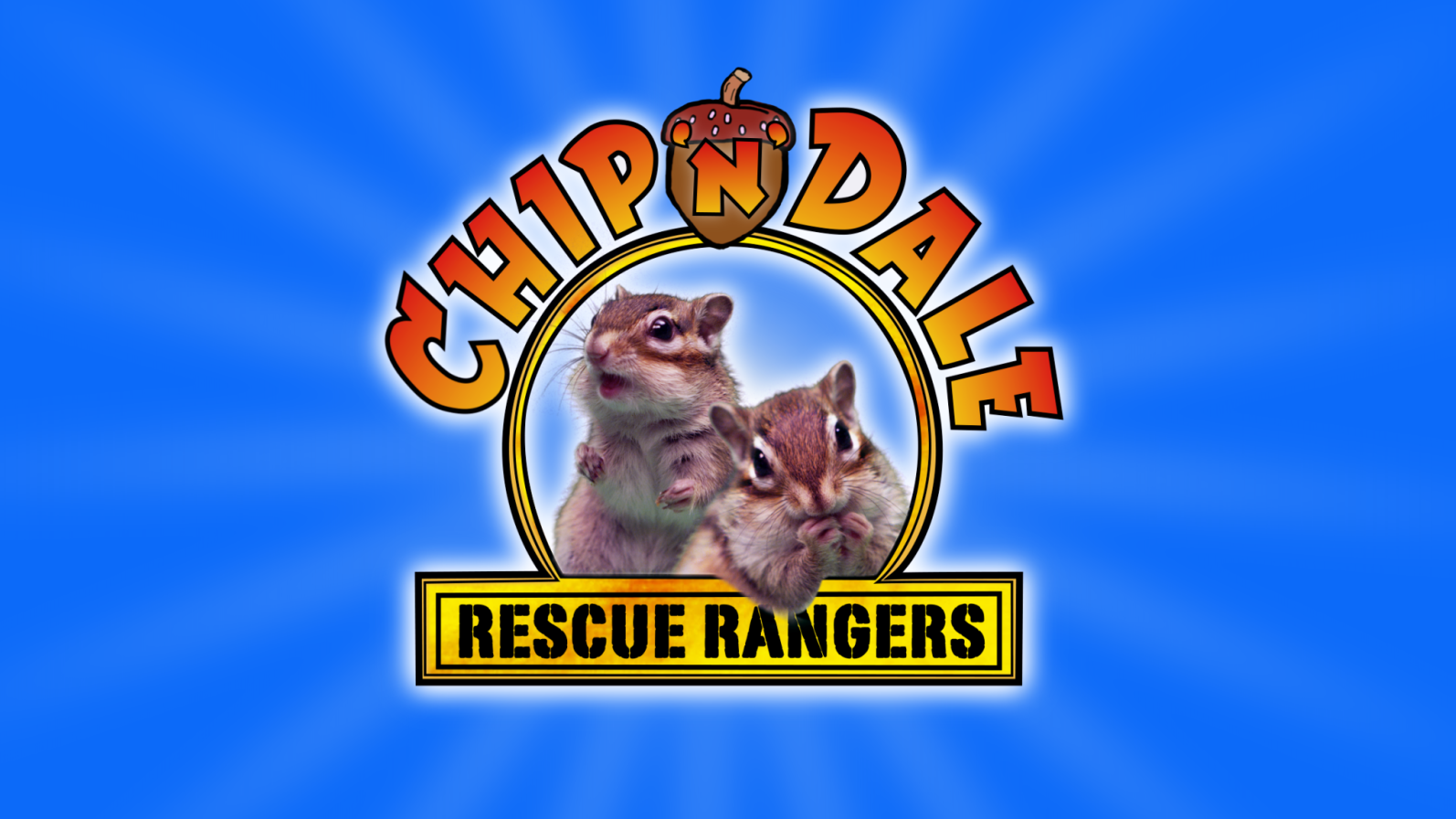 Chip 'n' Dale Rescue Rangers With Real Chipmunks - Oh My Disney