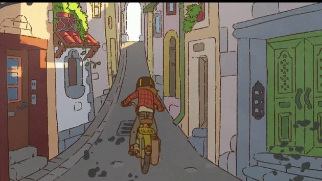 """Motorbike"" by Mechanical Apple 