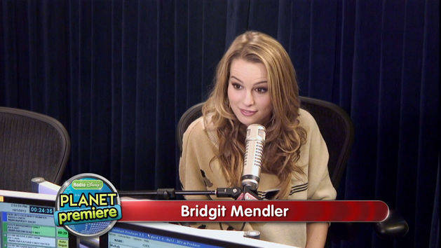 Planet Premiere Bridgit Mendler - Radio Disney