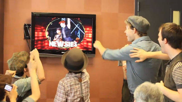Newsies On Broadway: Viewsies