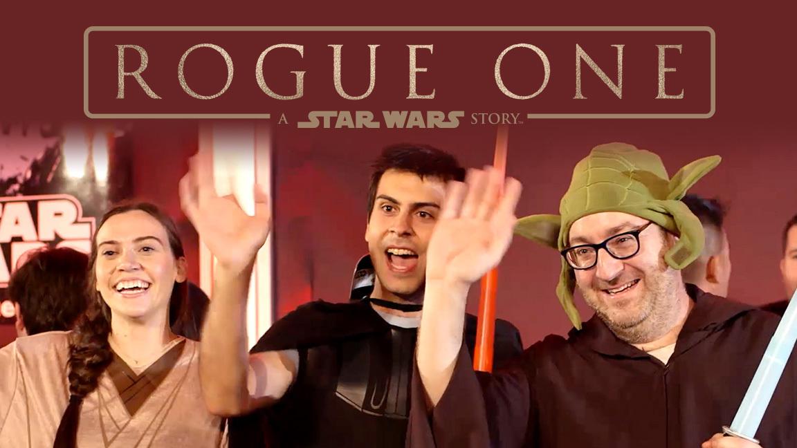 Rogue One: A Star Wars Story Fan Surprise