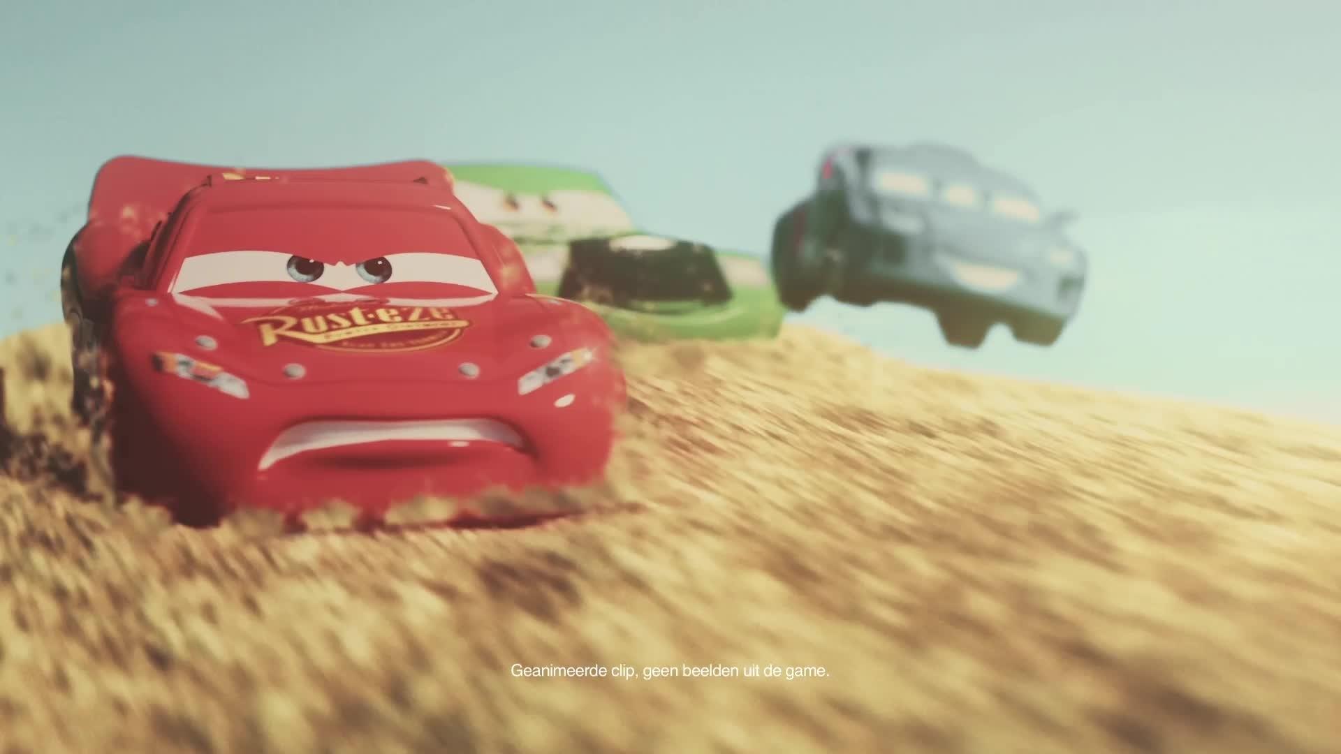 Cars Daredevil Garage - Testrit in de Zandbak