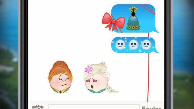 Frozen Fever contado en Emoji