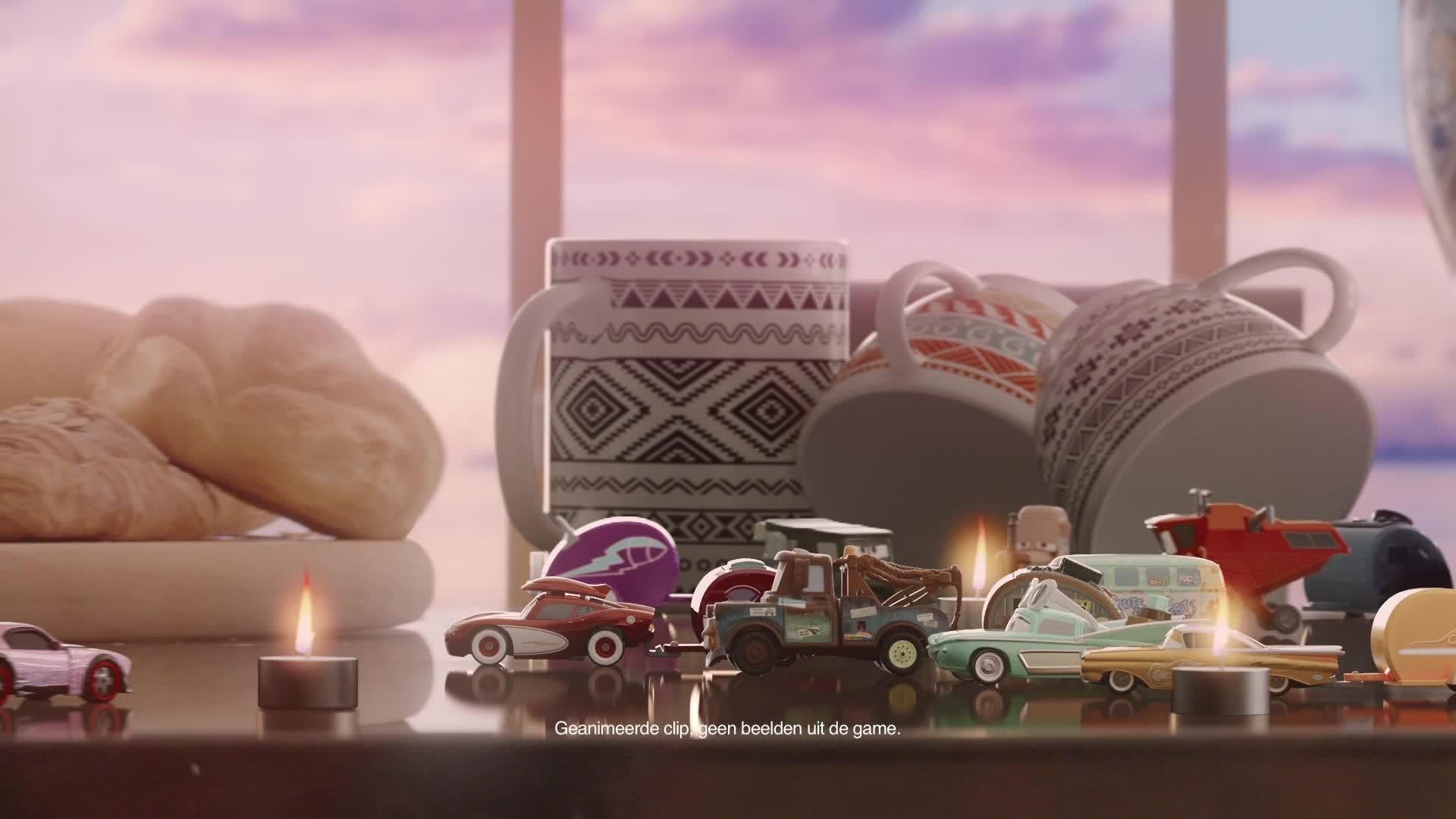 Cars Daredevil Garage - Testrit langs een Vakantieroute