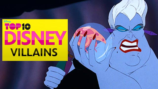 Disney Top Ten Villains