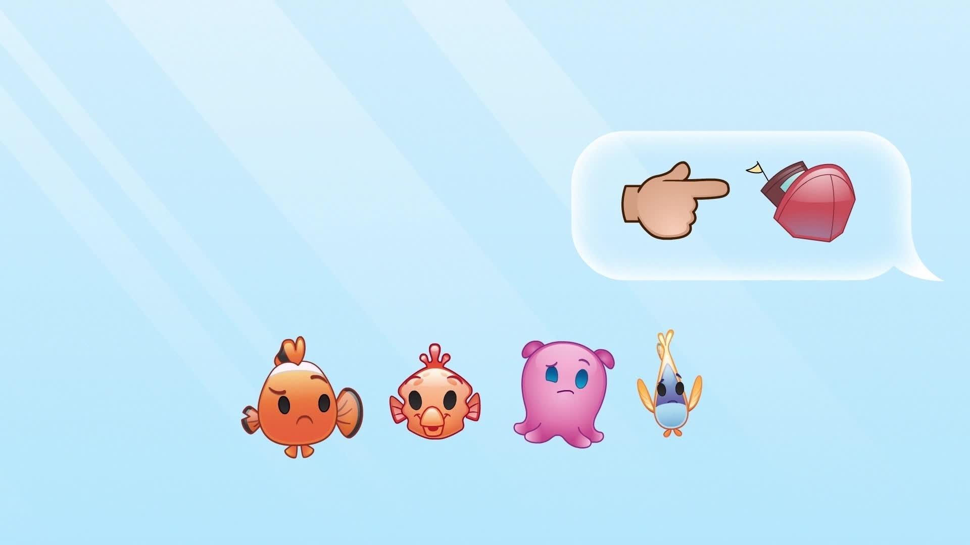Disney Emojis - Le Monde de Nemo