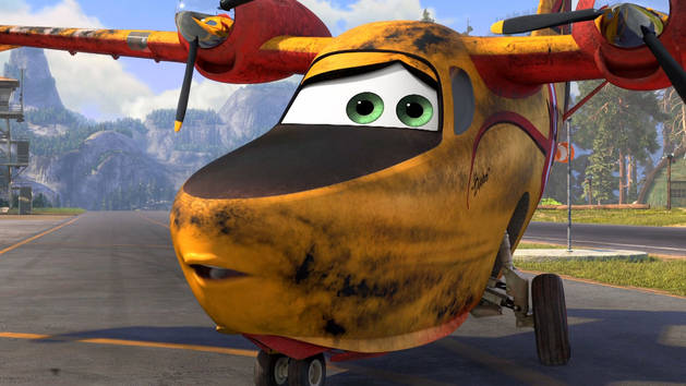 Dipper Animated Short - Planes: Fire & Rescue