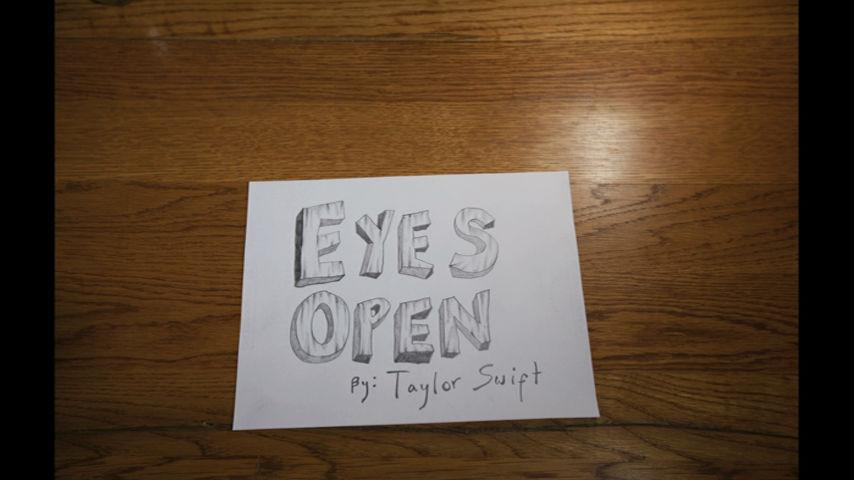 Eyes Open (Lyric Version) - Taylor Swift