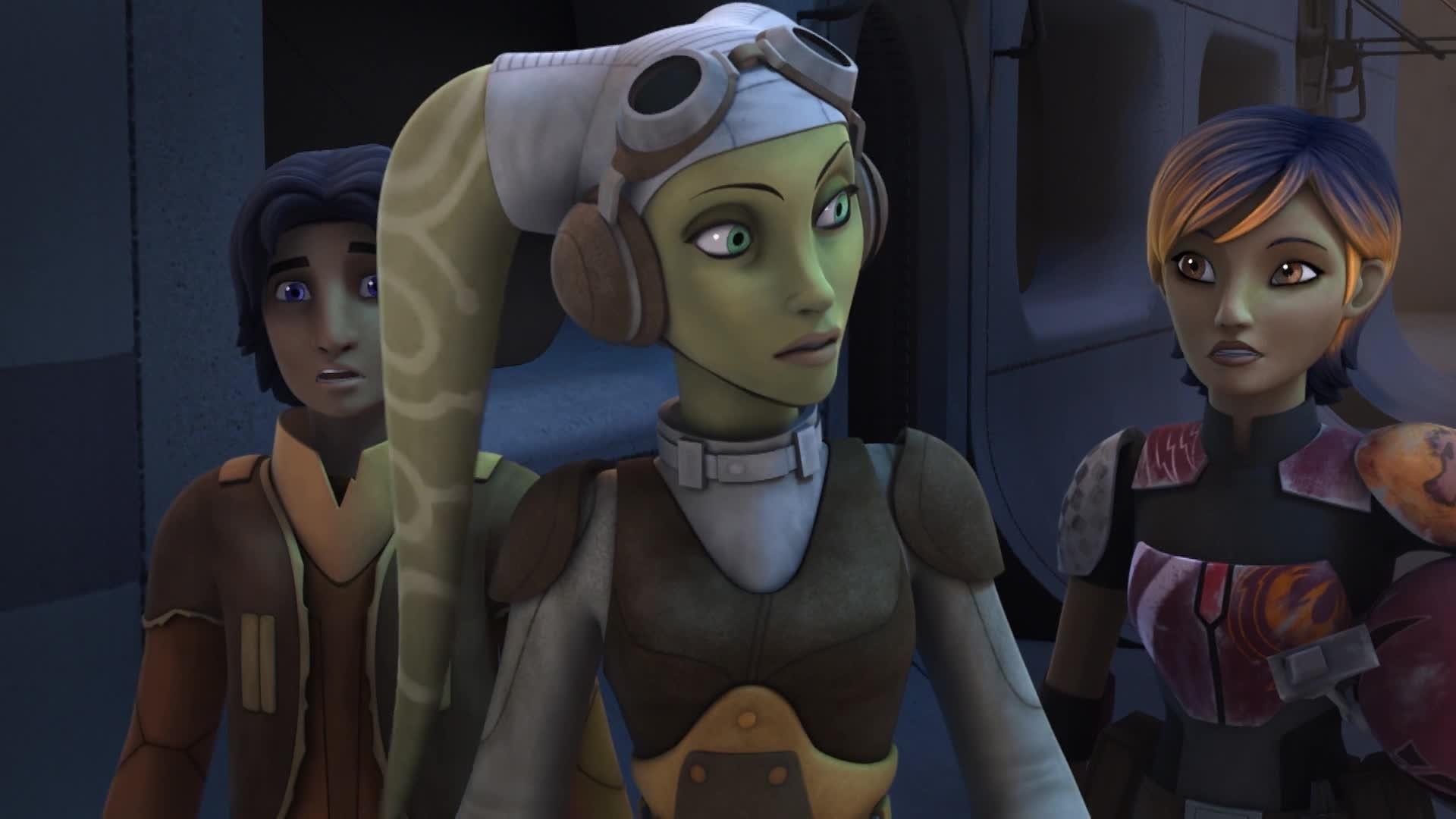 Star Wars Rebels - Minister Tua redden
