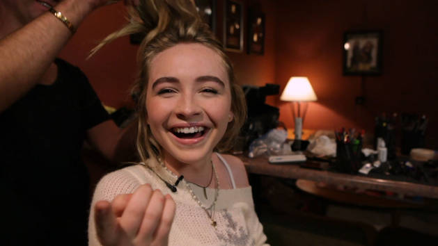 Holiday Playlist Sessions Behind the Scenes | Sabrina Carpenter | Disney Style