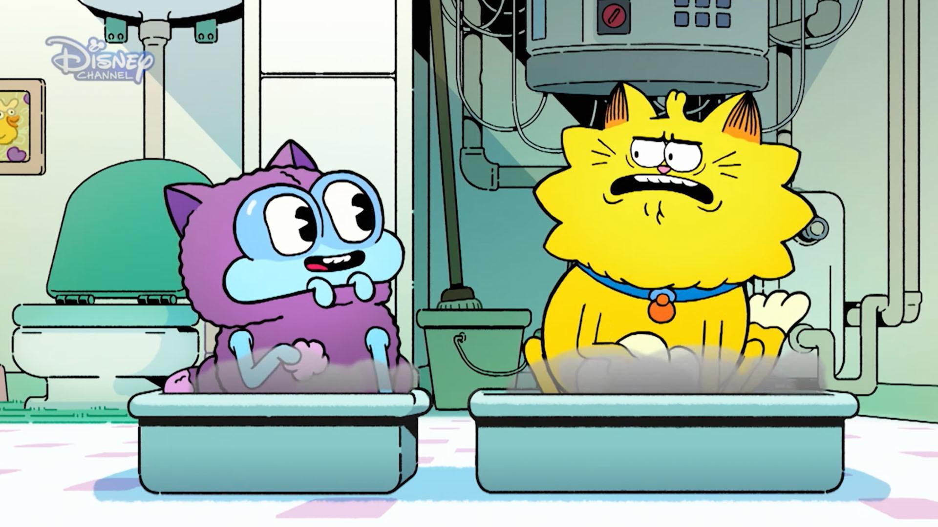 A macska, az űrlény meg az alom
