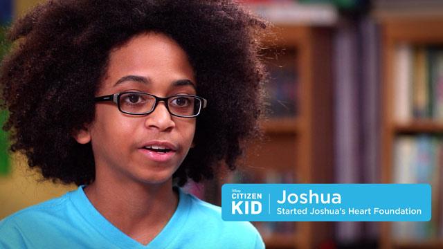 Joshua, Feeding Those in Need - Citizen Kid by Disney