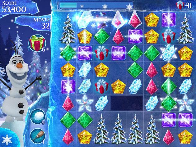 Frozen Free Fall - Screenshot Gallery | Disney LOL - photo#33