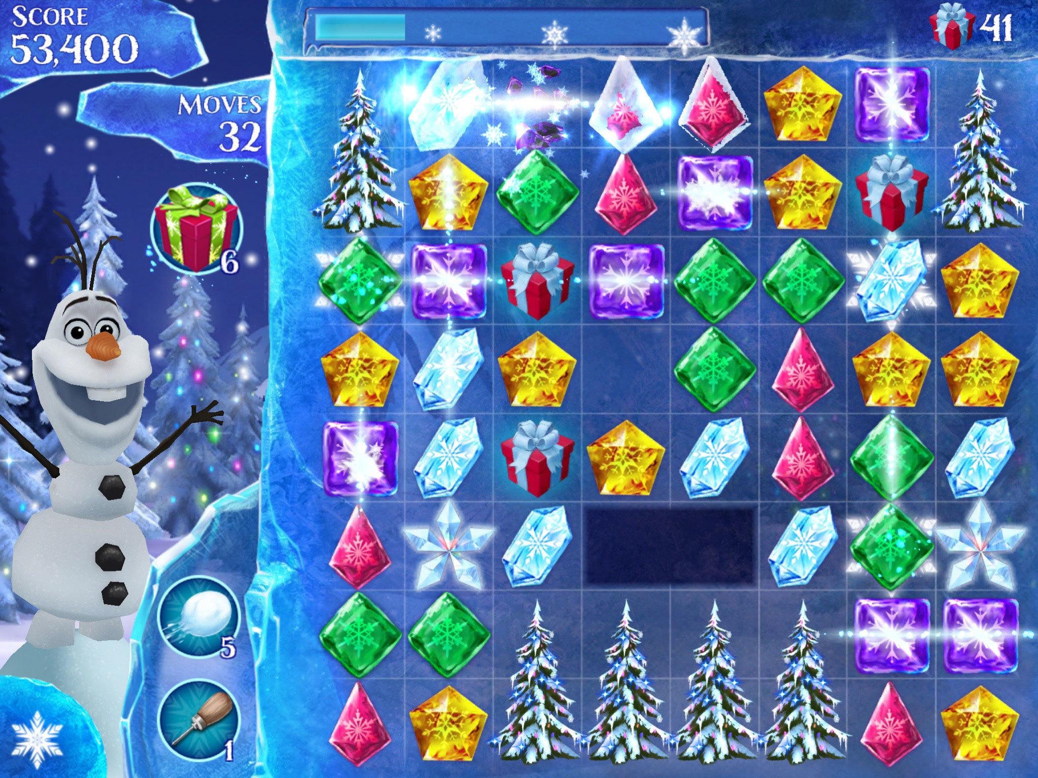 Frozen Free Fall - Screenshot Gallery