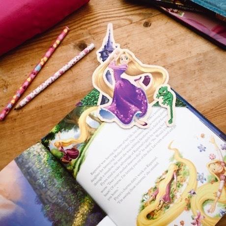 Segnalibro di Rapunzel