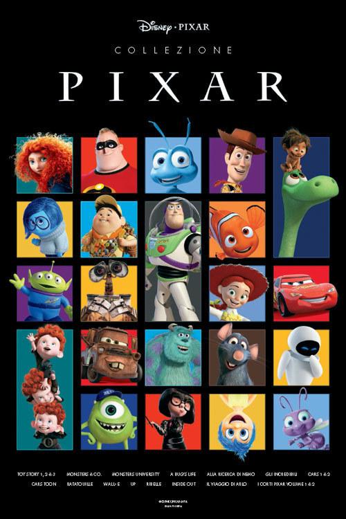 Cofanetto Collezione Completa Disney/Pixar
