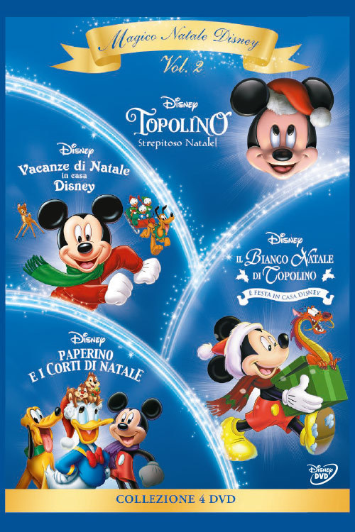 Cofanetto magico natale disney volume film