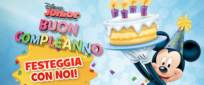 Buon compleanno da Disney Junior!