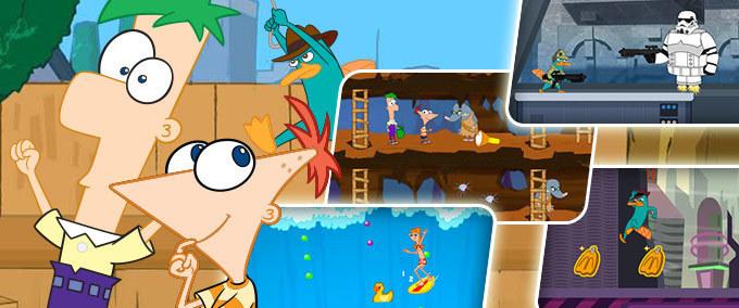 Giochi Phineas e Ferb