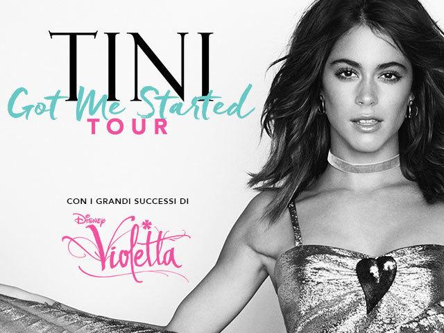 TINI - GOT ME STARTED - Il Tour